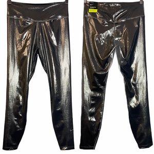 Nike Icon Clash Shimmer Leggings Silver M